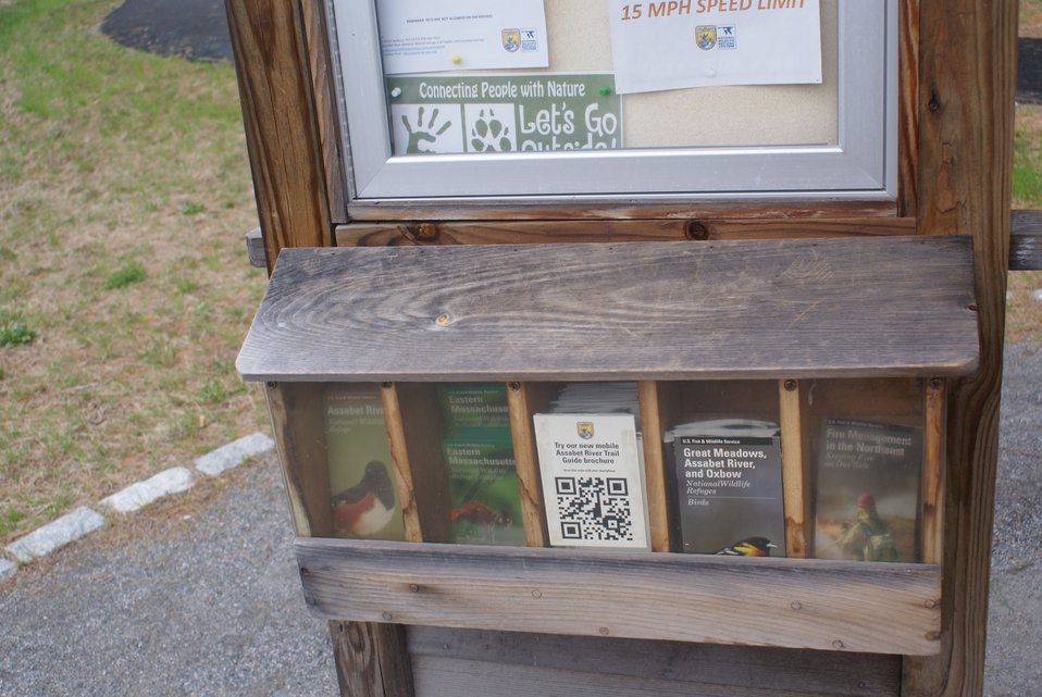 QR codes at Assabet River Refuge