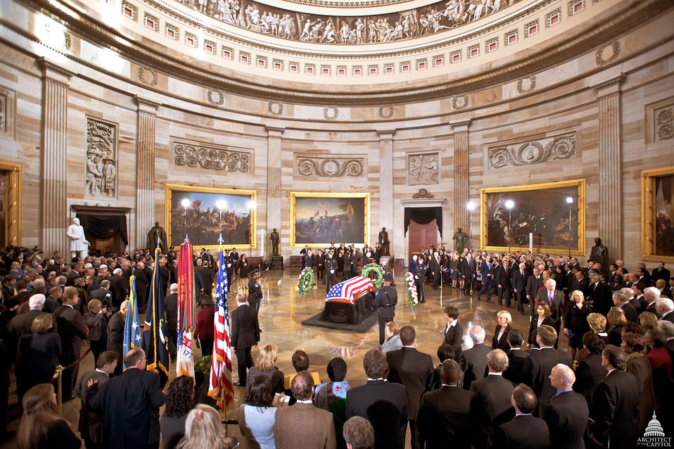 Lying in State of Senator Inouye