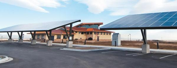 Rocky Mountain Arsenal solar panels