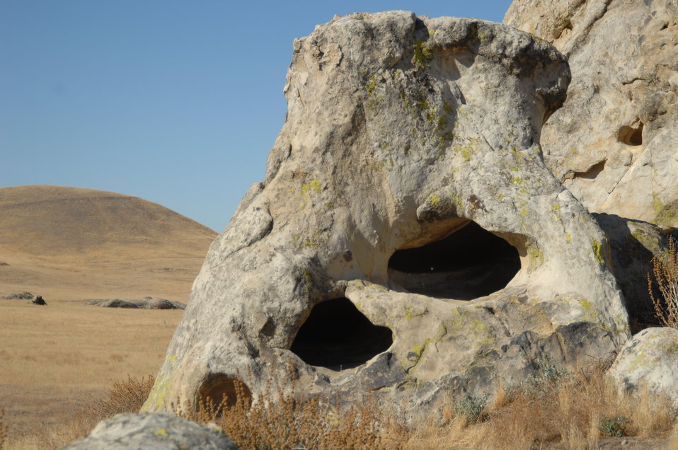 Painted Rock, Formation on the Carrizo Plain 1