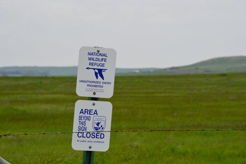 NWR sign