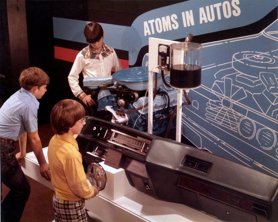 Exhibit at the American Museum of Science and 'Atoms in Autos' Oak Ridge
