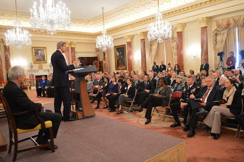 Secretary Kerry Delivers Remarks at the Annual Department Awards Ceremony