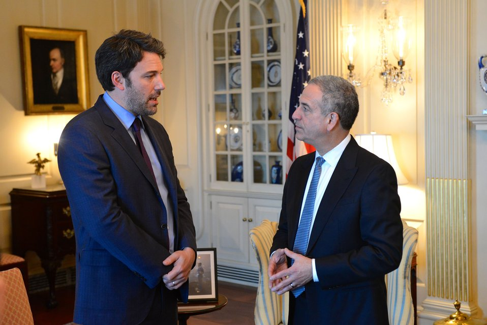 Special Envoy Feingold Meets With Ben Affleck