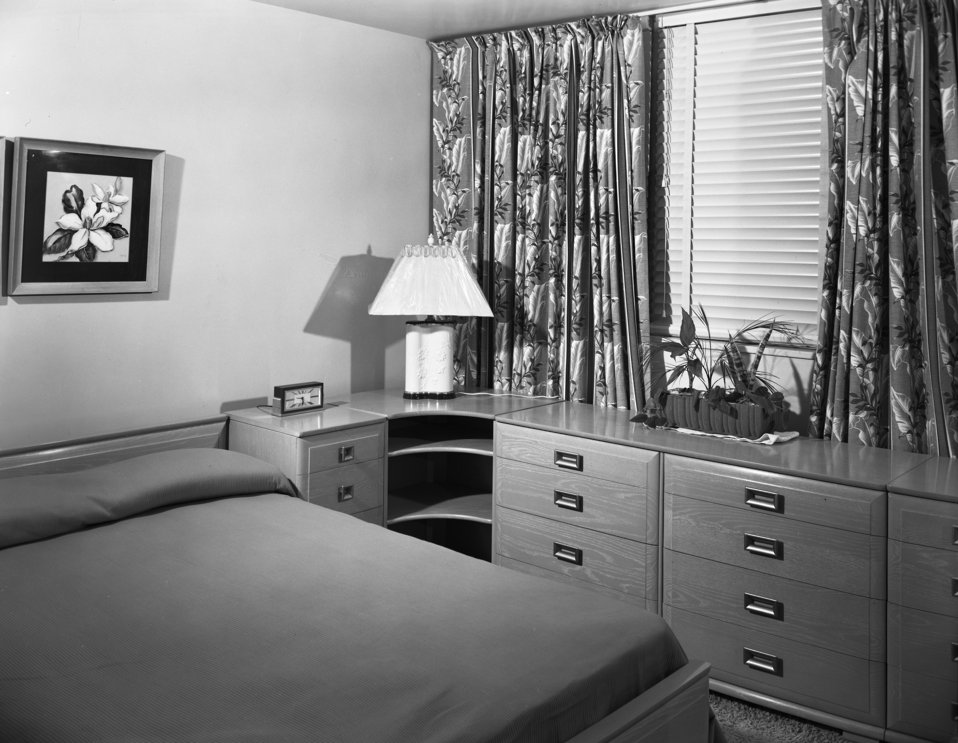 Garden Apartments Interior Oak Ridge 1949
