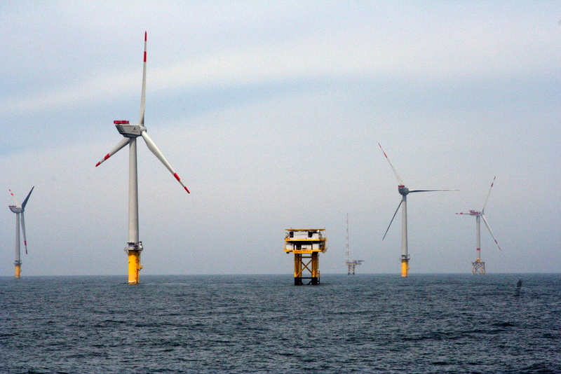 REpower 5 Megawatt Offshore Wind Turbines and Energy Substation