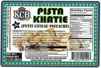 RECALLED – Pista Khatie (cookies)