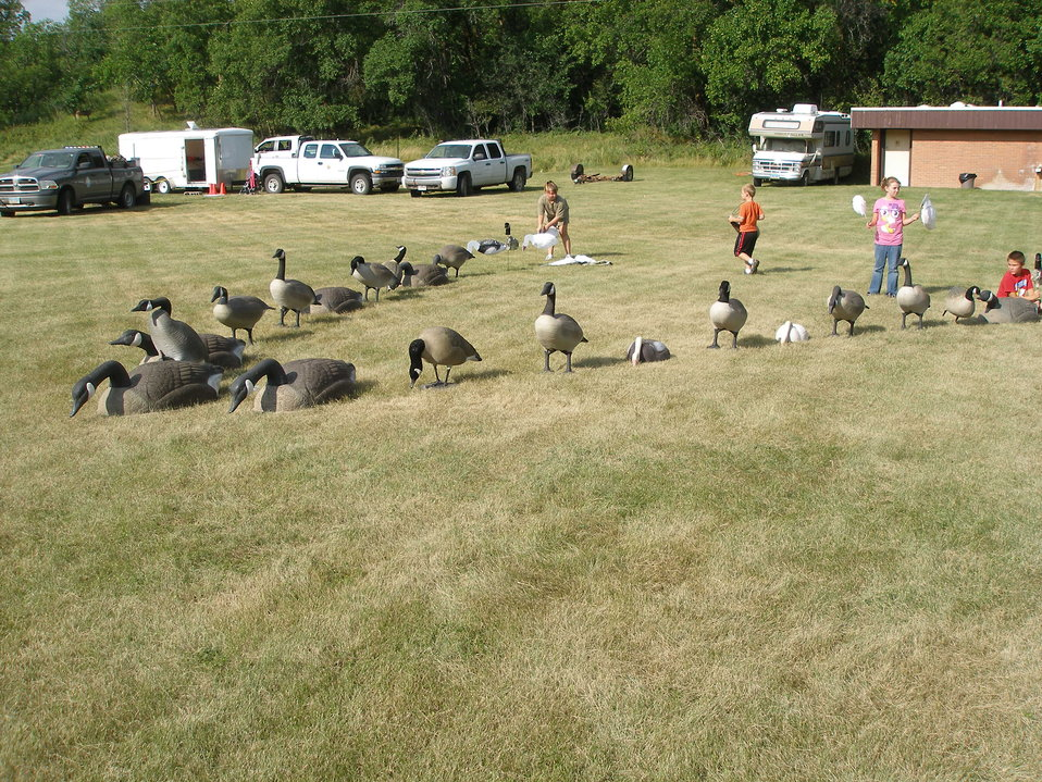 2011 Greenwing Day - Decoy Setup Session