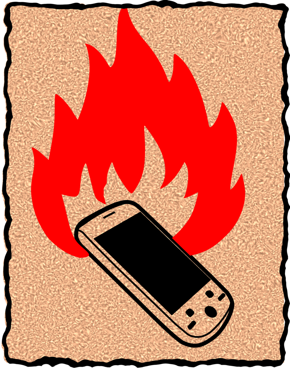 burn your phone