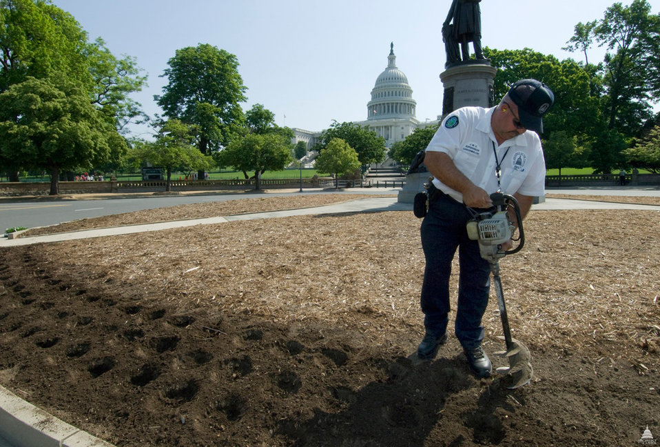 Maintaining the Capitol Grounds