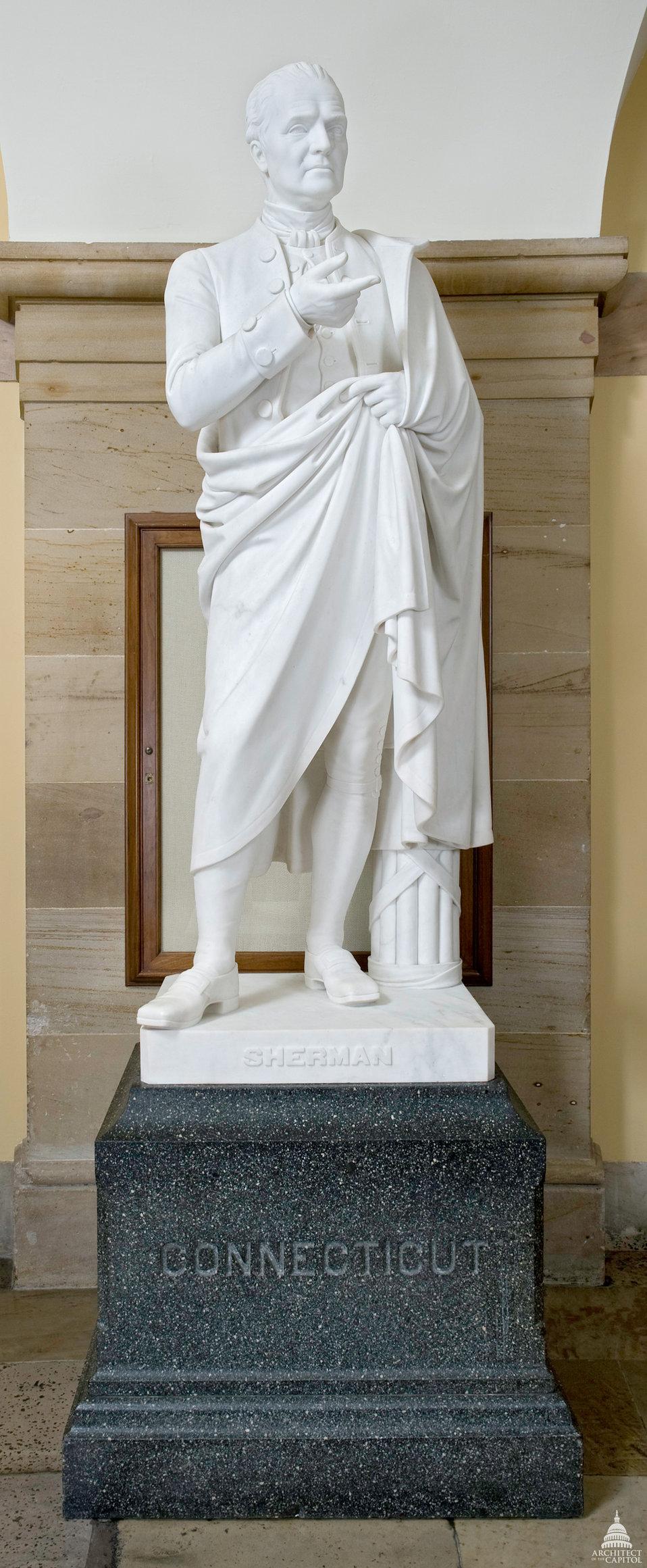Roger Sherman Statue