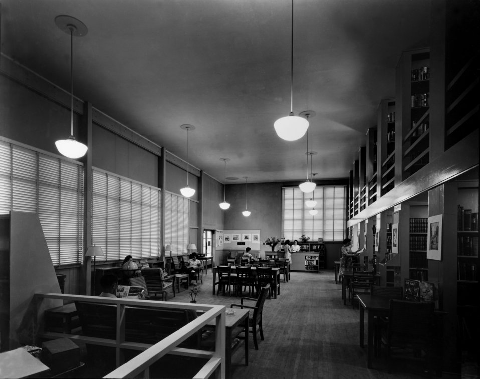 Public Library Interior Oak Ridge