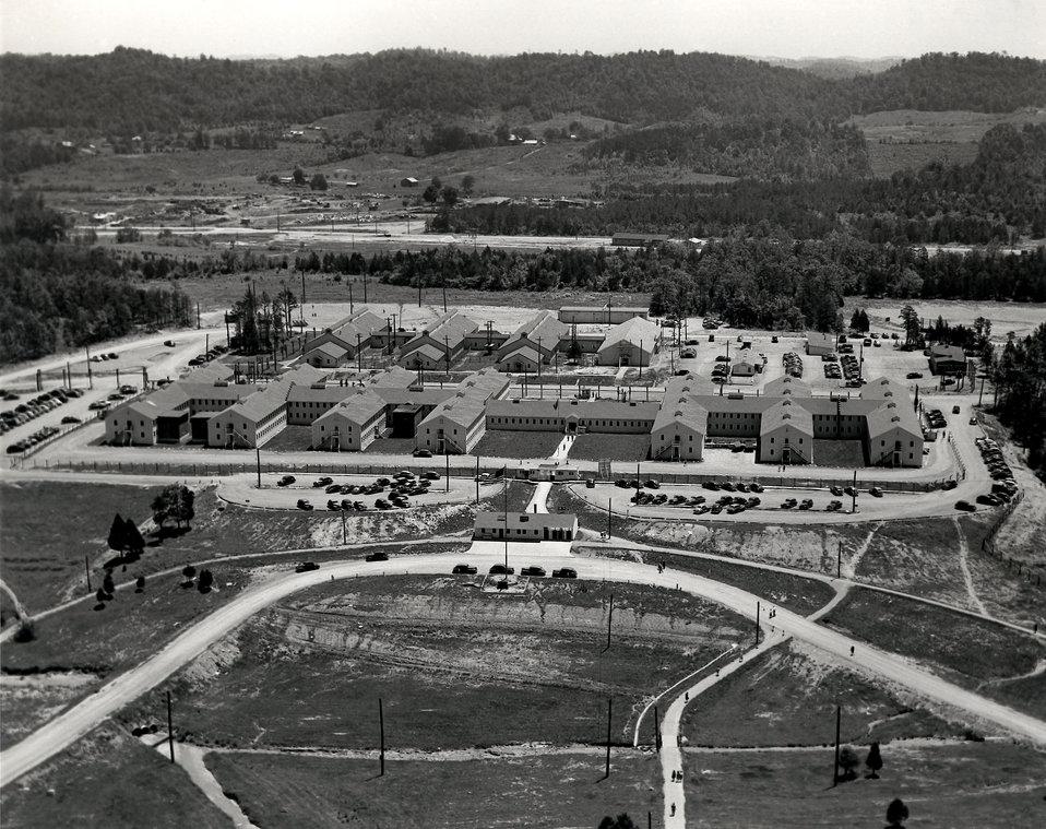 Air View AEC Admin. Bldg. Oak Ridge
