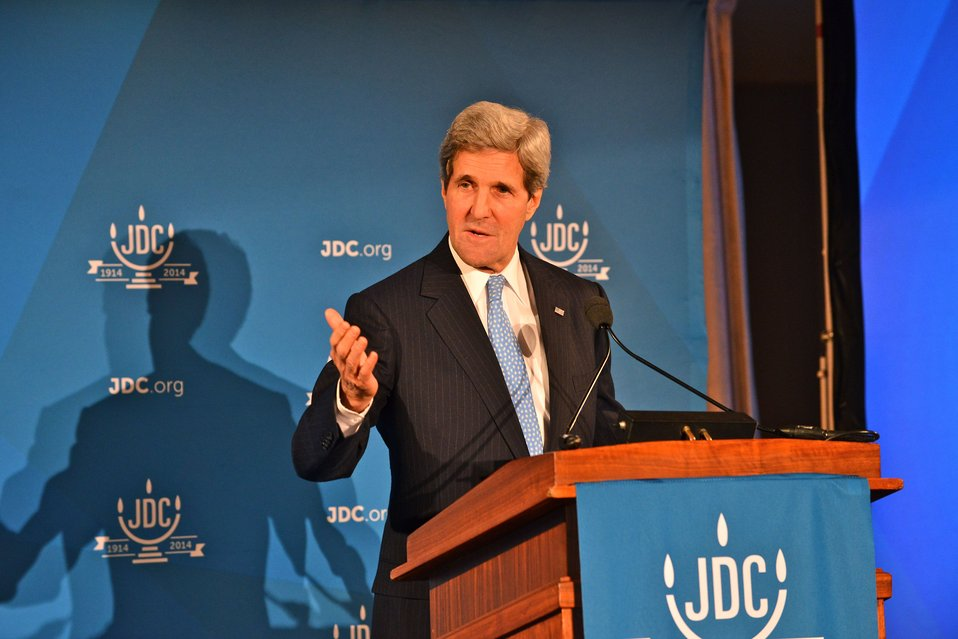 Secretary Kerry Delivers Remarks at the American Jewish Joint Distribution Committee's 100th Anniversary Celebration
