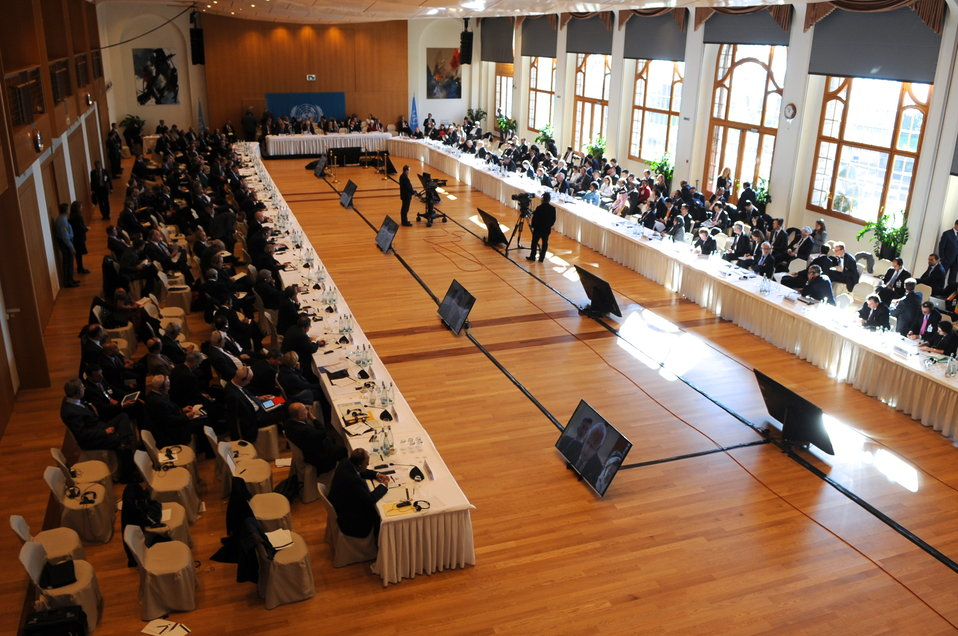 Geneva II Conference Gets Underway in Switzerland