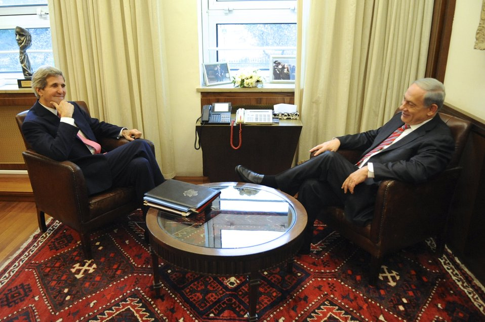 Secretary Kerry Meets With Prime Minister Netanyahu in Israel