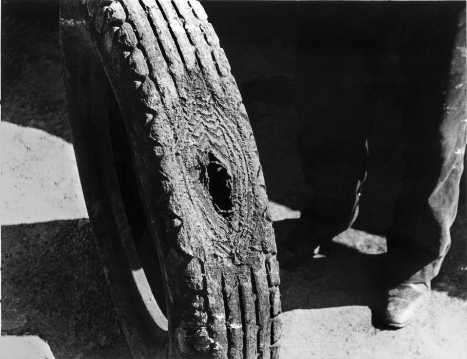 Worn Tire Oak Ridge