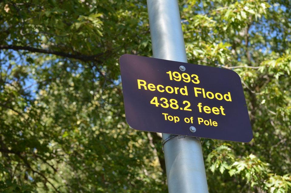 Record flooding