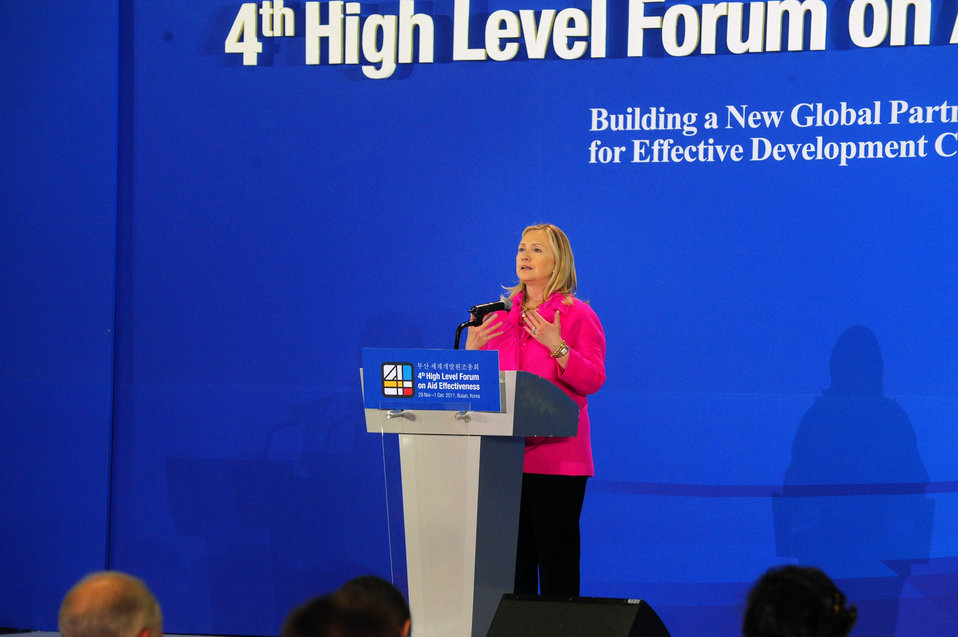 Secretary Clinton Holds a Press Conference