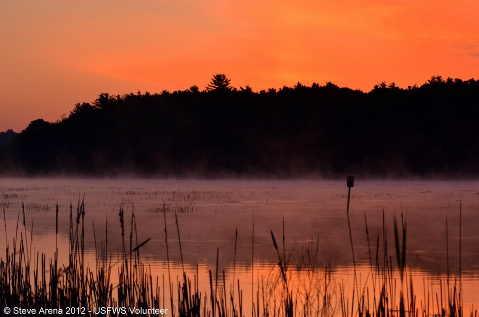 Sunrise at Great Meadows NWR, Concord, MA