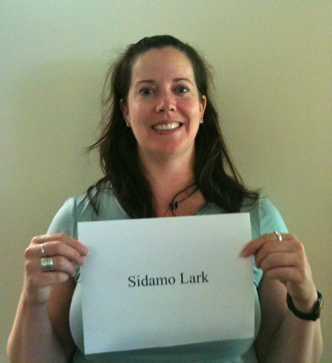 Anne St. John, 'Sidamo Lark,' Credit: USFWS