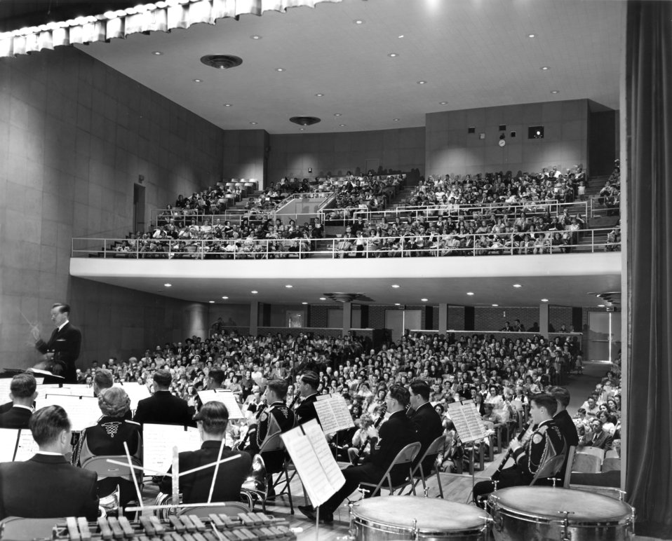 Concert Oak Ridge High School 1951