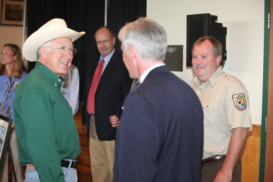 Ken Salazar & Andy French
