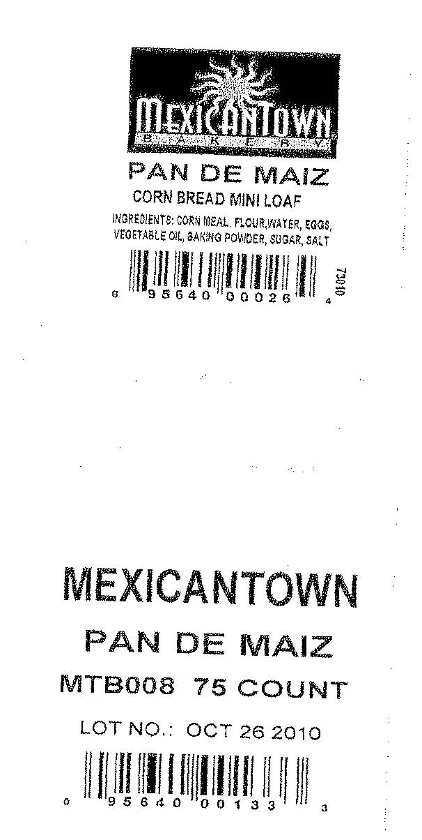 RECALLED - Mexicantown Pan De Miaz
