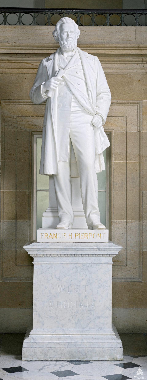 Francis Harrison Pierpont Statue