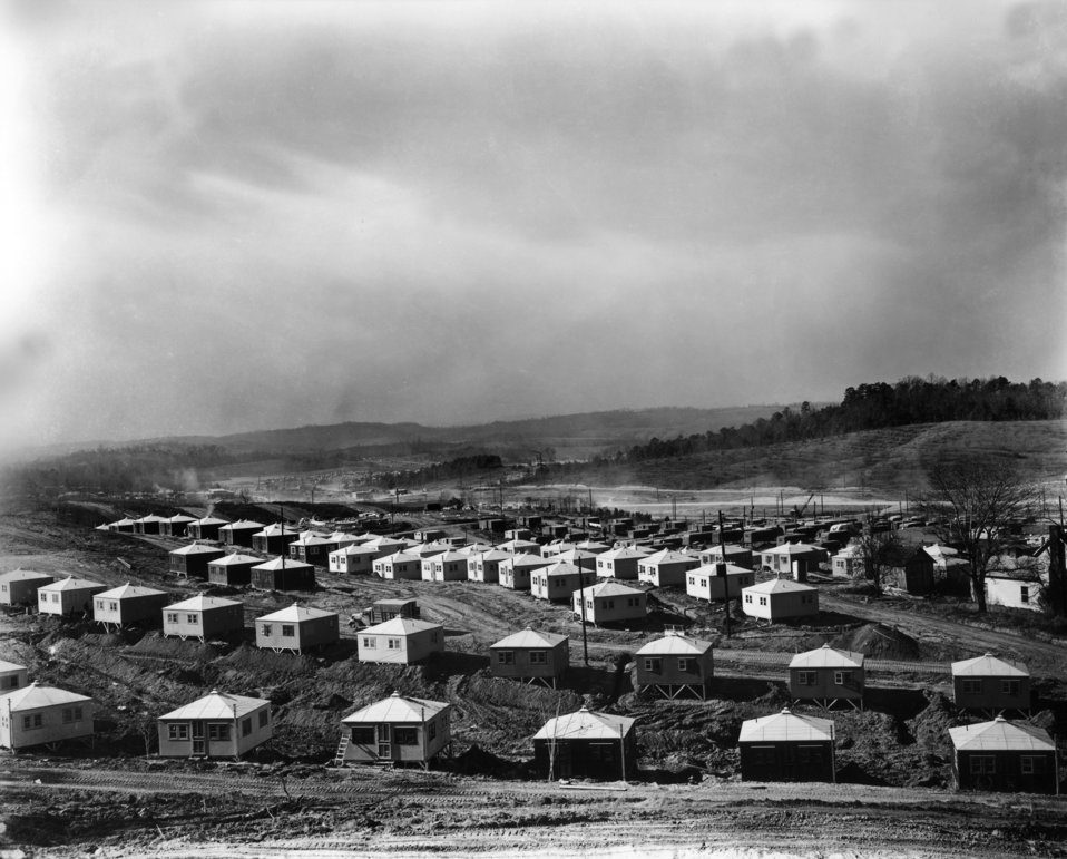 Temporary Housing (Hutments) - Oak Ridge