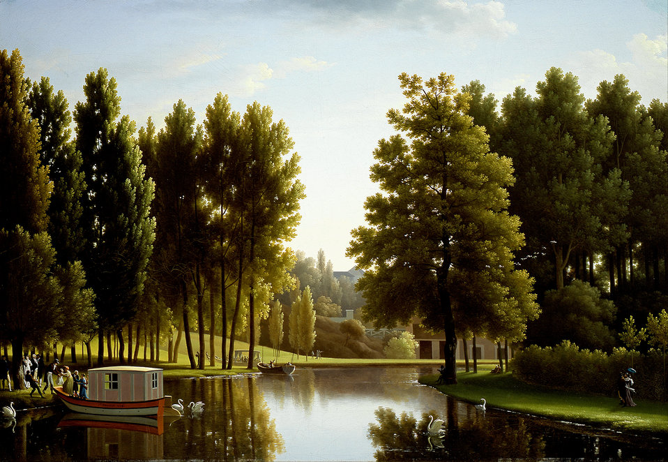 Bidauld, Jean Joseph Xavier - The Park at Mortefontaine - Google Art Project.jpg