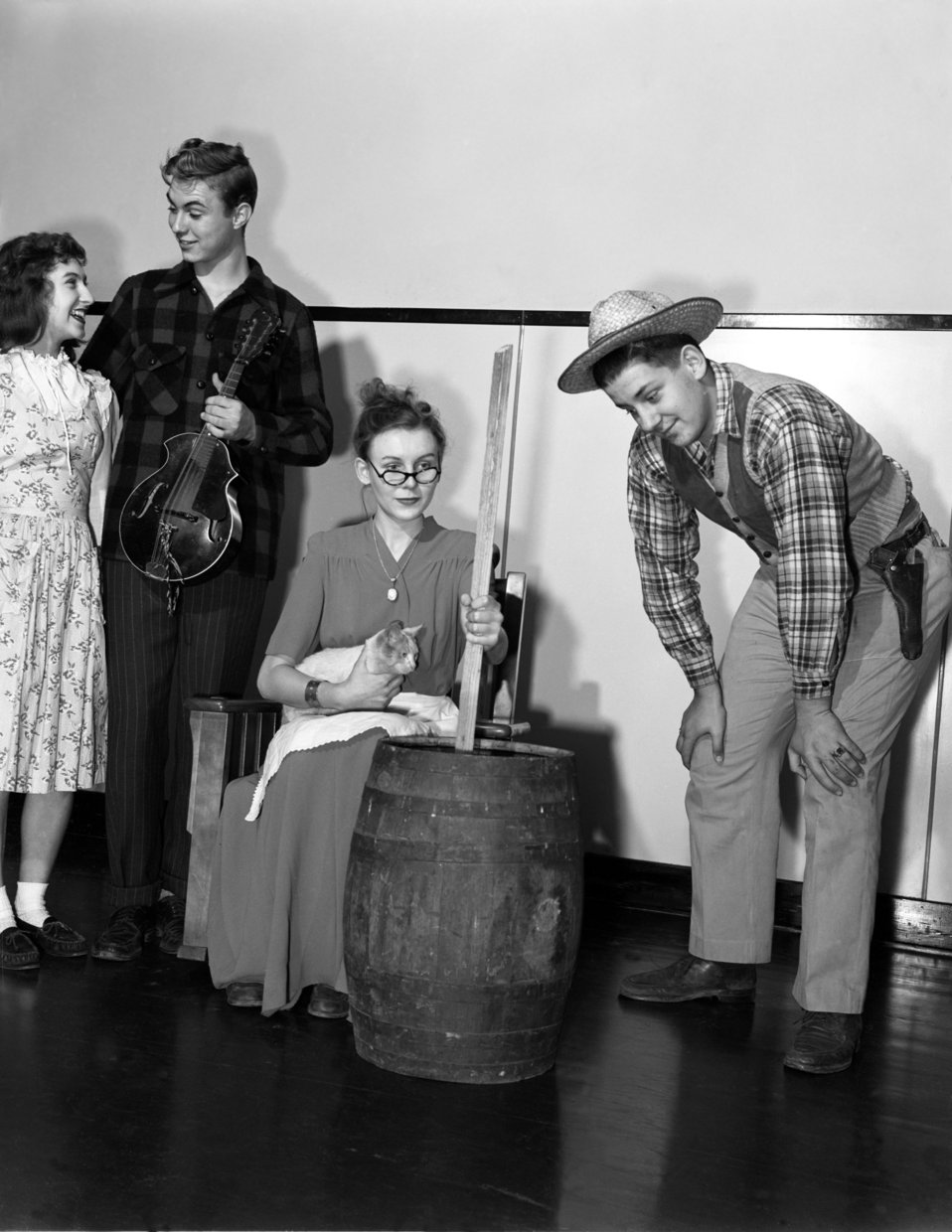 Play at Oak Ridge High School 1947