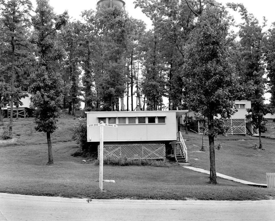 Prefab House Del. Ave 1948 Oak Ridge
