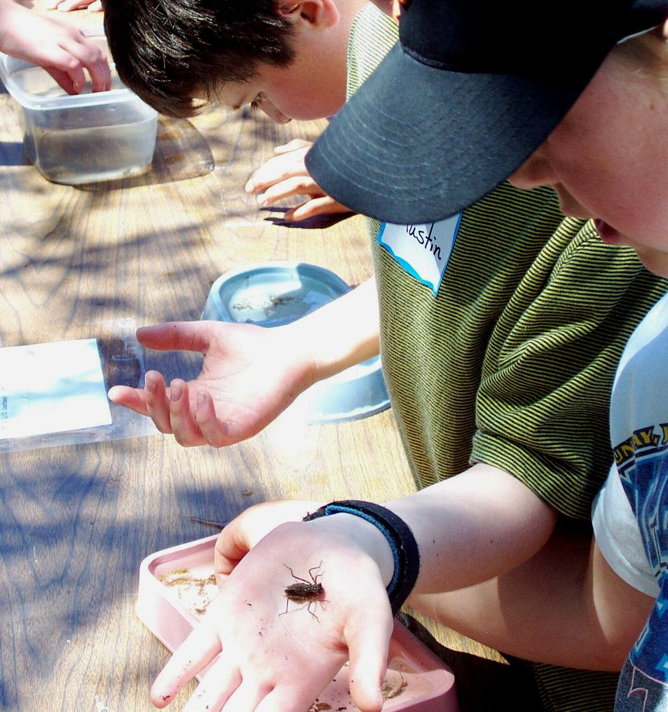 Creston National Fish Hatchery's Kids Fish Day