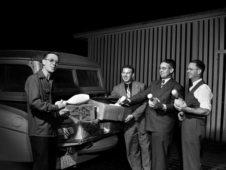 Bowling Oak Ridge 1947
