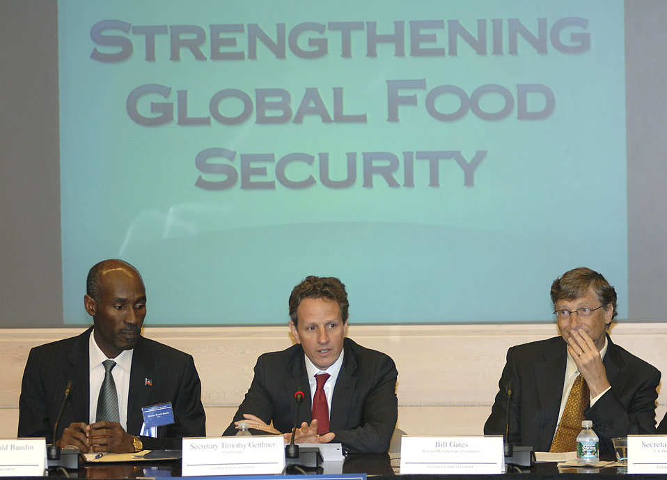Announcement on International Commitment to Fight Global Hunger and Poverty, 4/22/10
