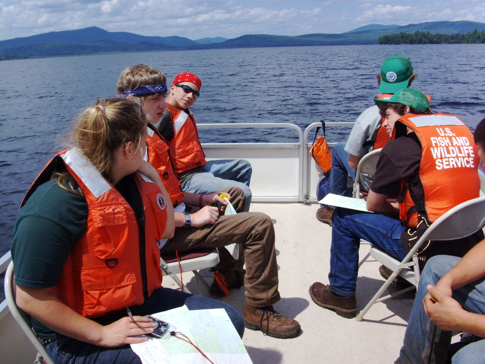 Environmental Education on Umbagog Lake