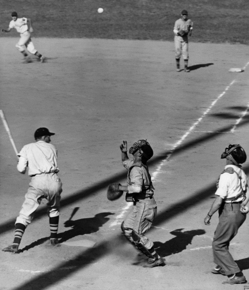 Baseball Game Oak Ridge