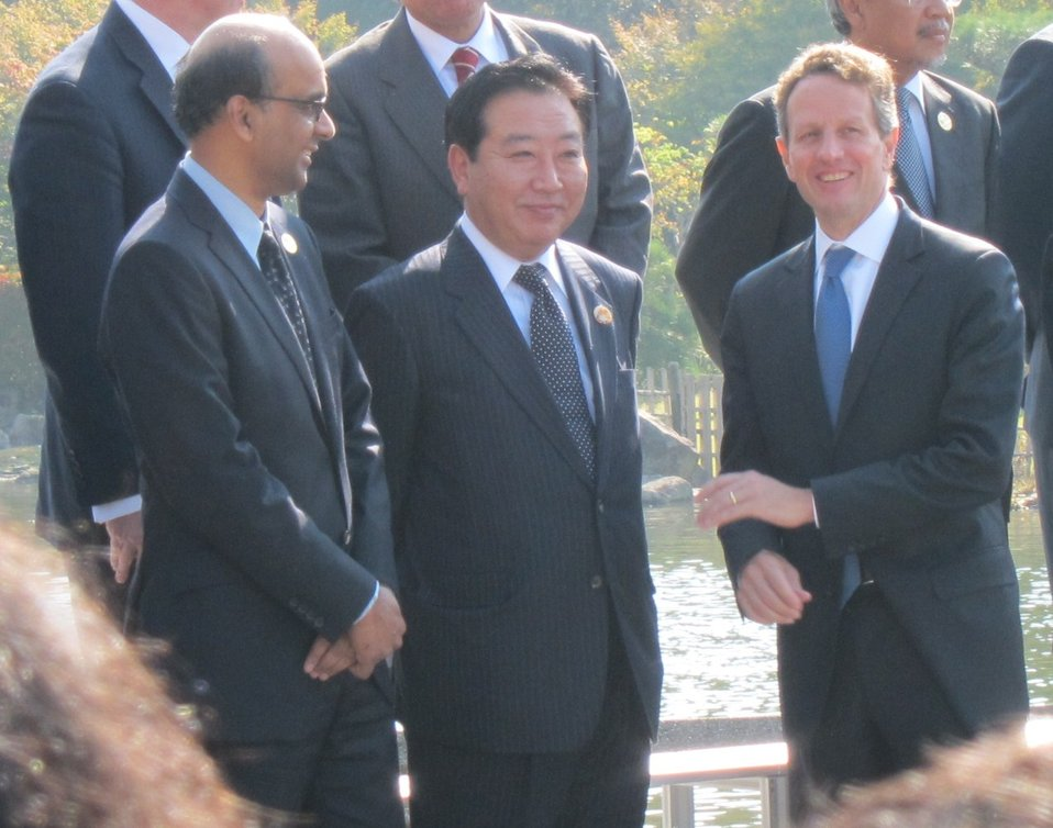 Secretary Geithner's trip to Japan