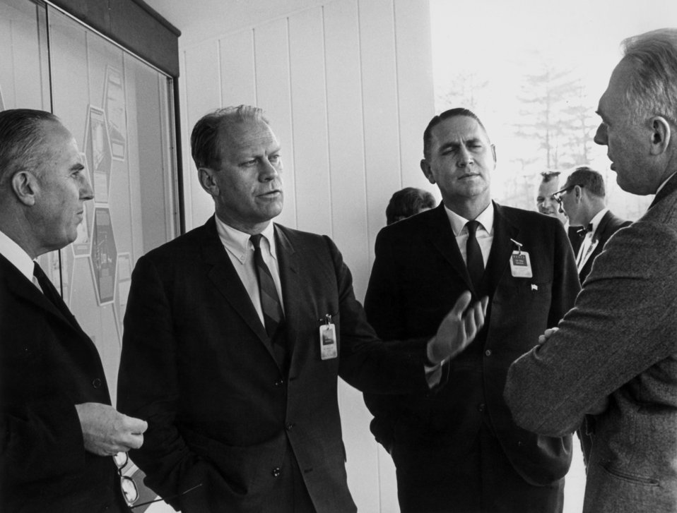 Visit by Congressman Gerald Ford Oak Ridge