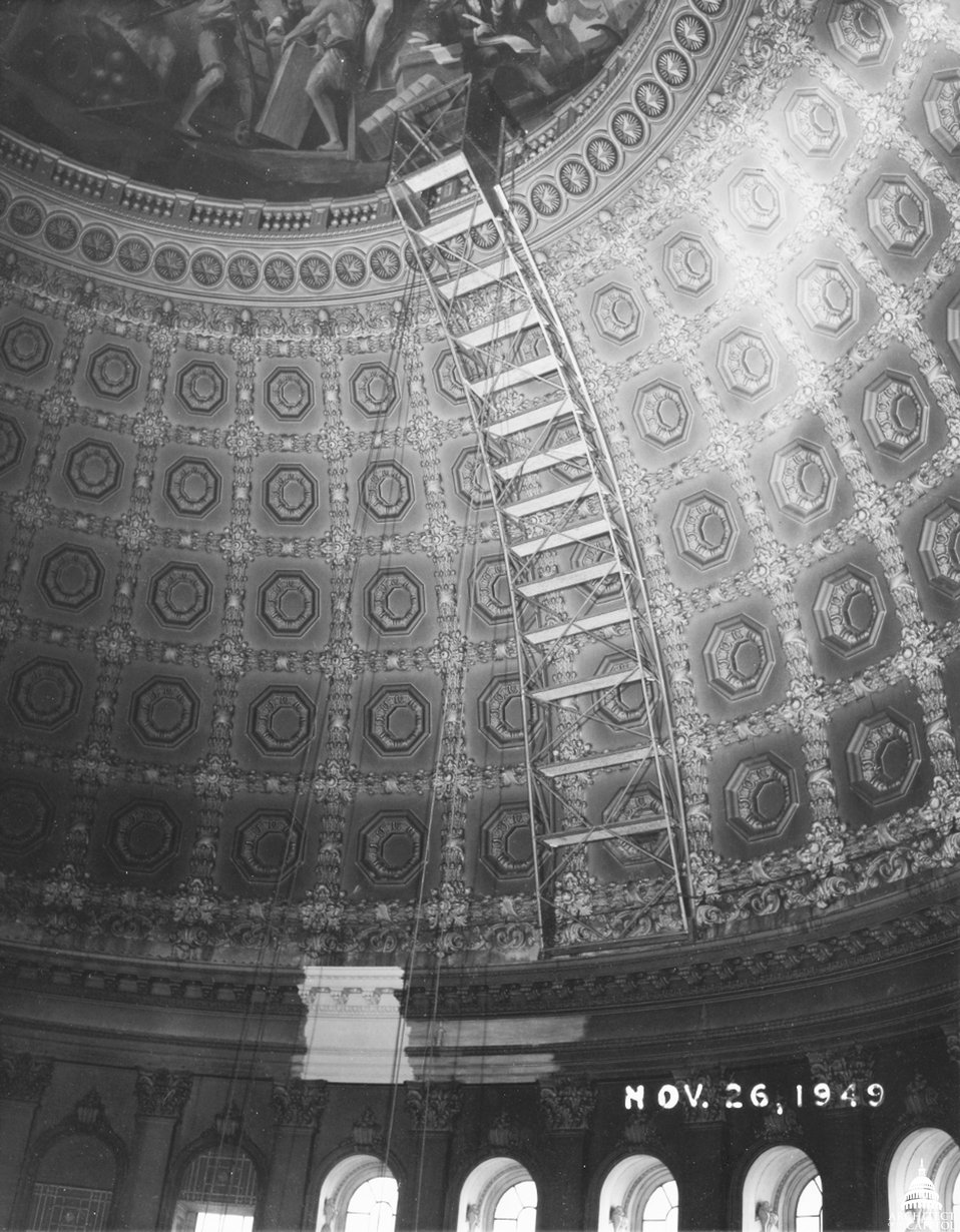 Interior Rotunda Work 1949