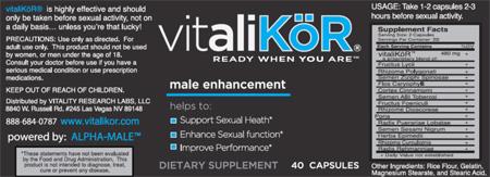 RECALLED – Dietary Supplement