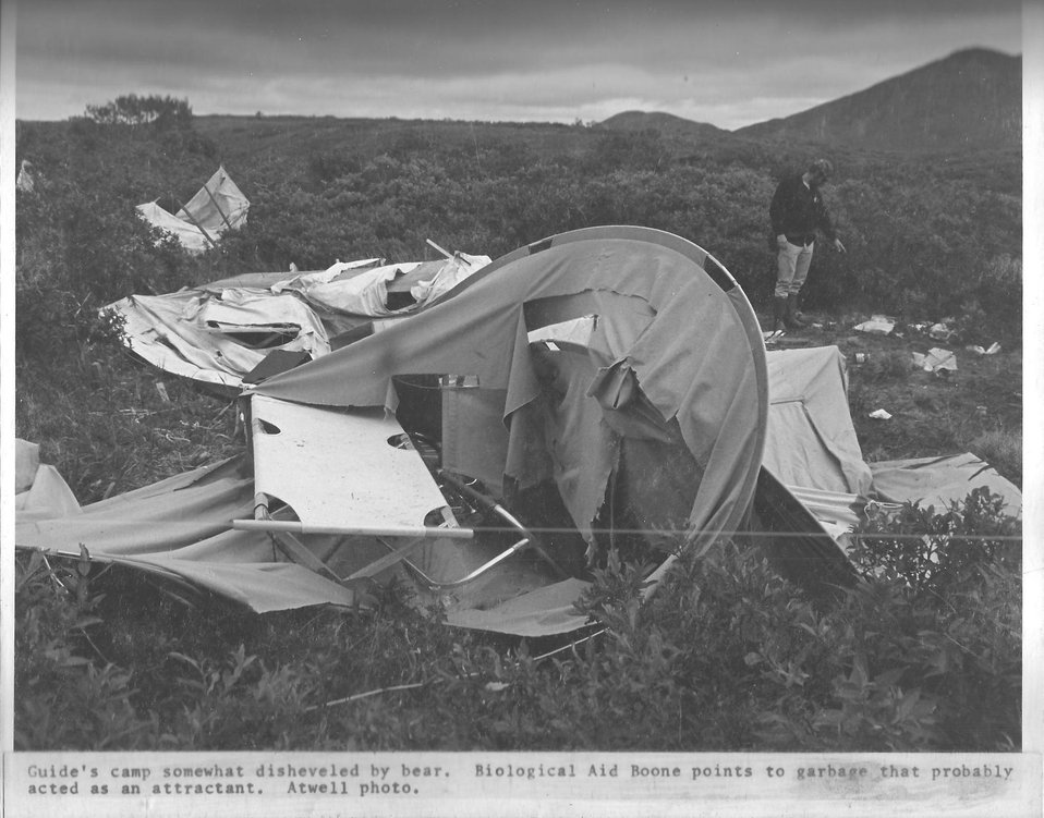 (1972) Damaged camp