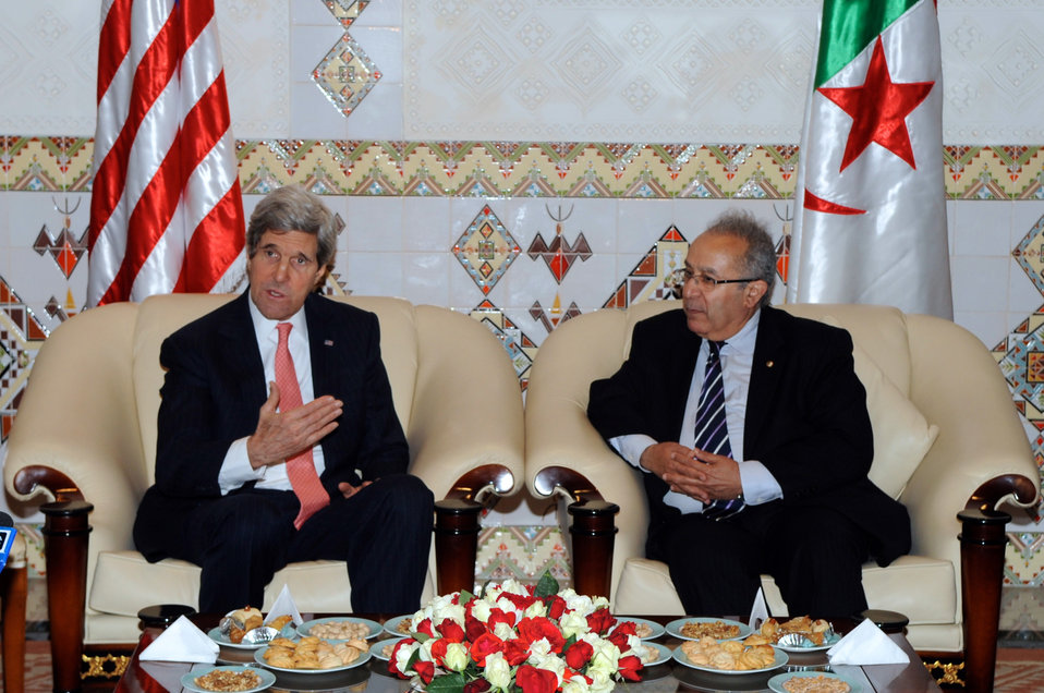 Secretary Kerry Tells Algerian People He Is Looking Forward to Strategic Dialogue