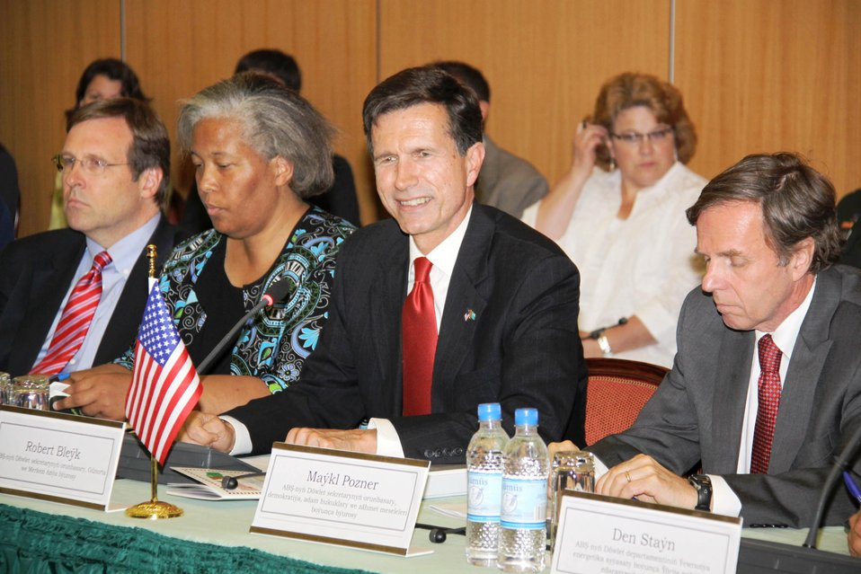 Assistant Secretary Blake, Assistant Secretary Posner, and Chargé d'Affaires Sylvia Curran Participate in the Opening of the Annual Bilateral Consultations (ABCs)