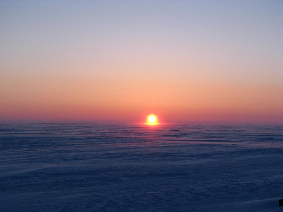 Sunset pre-breakup