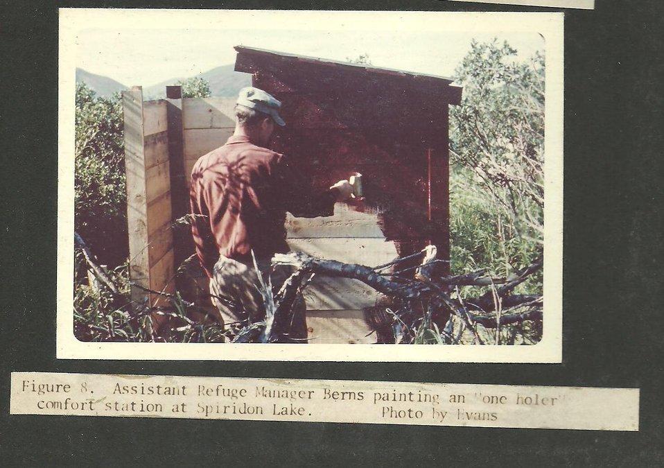 (1965) One Holer Comfort Station