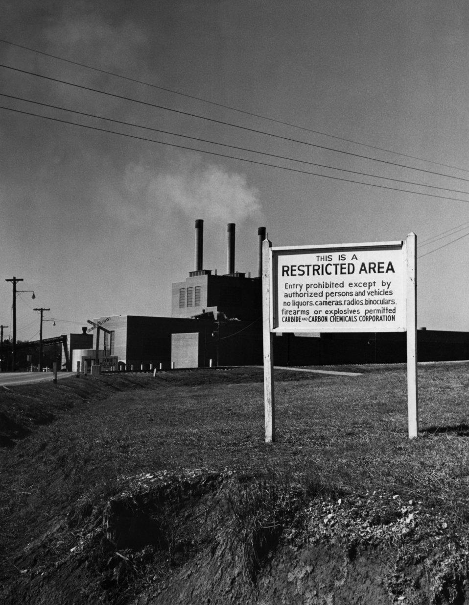 K-25 Steam Plant 1949