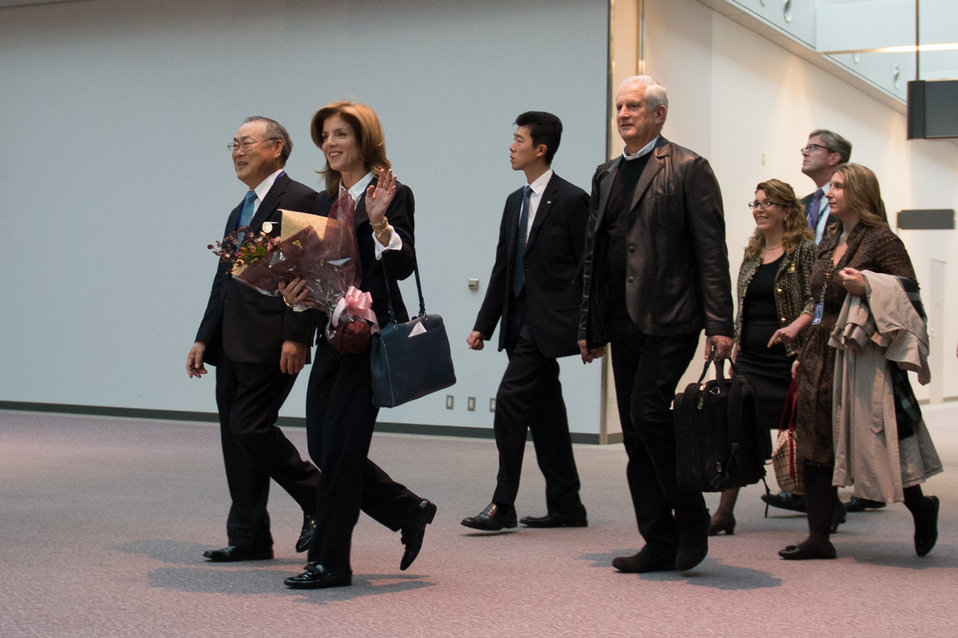 Ambassador Kennedy Arrives in Japan