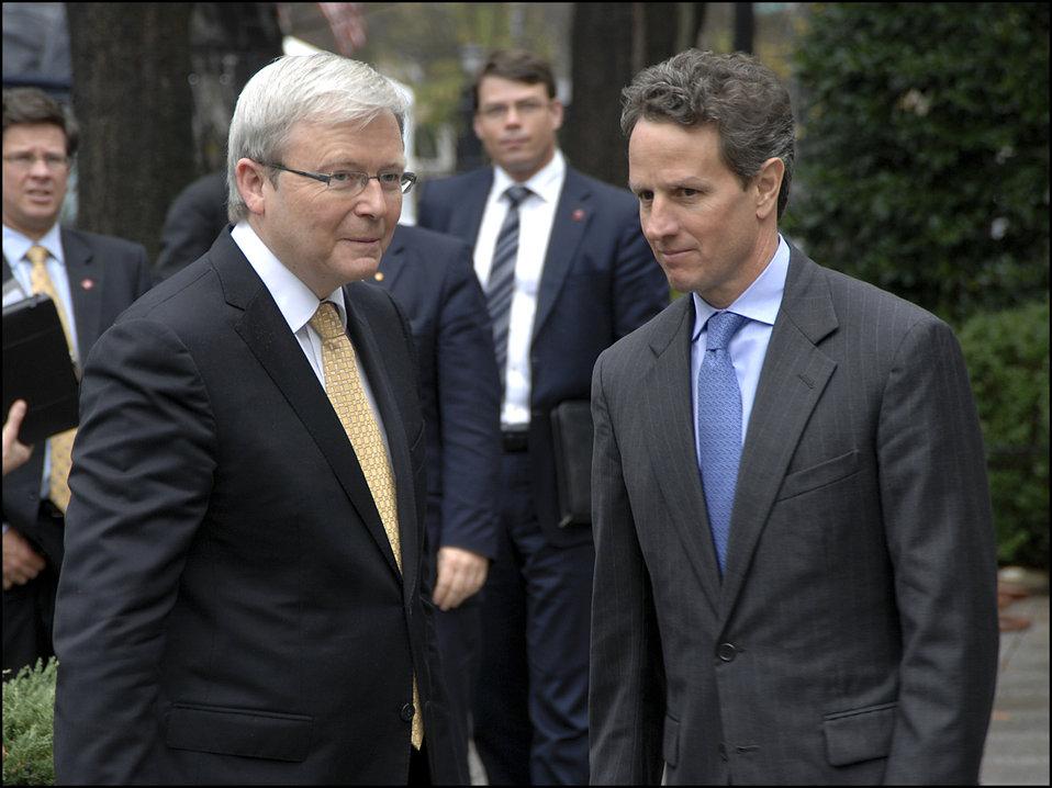 Australian Prime Minister Rudd